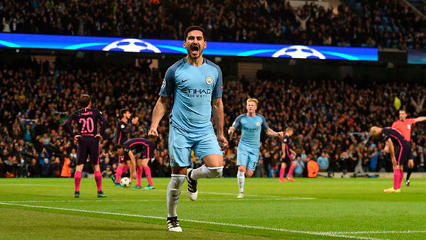 Image result for de bruyne city 3-1 barcelona