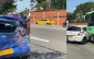 En video: choque múltiple de 8 carros en recta Cali - Palmira